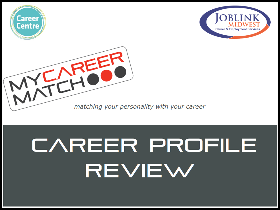 My Career Match Review